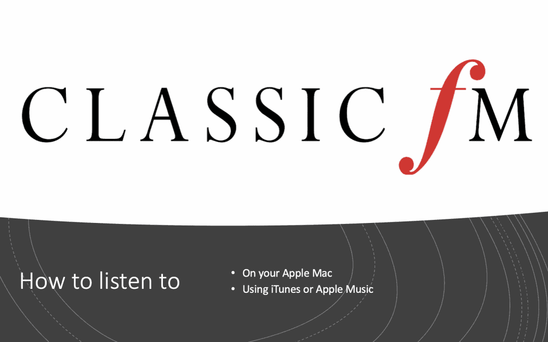 How to add Classic FM to iTunes Radio.