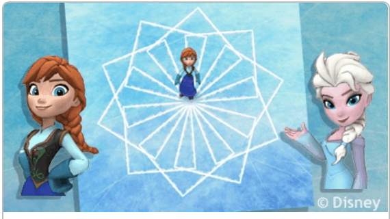 Learn to code with Elsa and Anna from Frozen