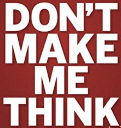 Don't Make Me Think: A Common Sense Approach to Web Usability – new edition published.