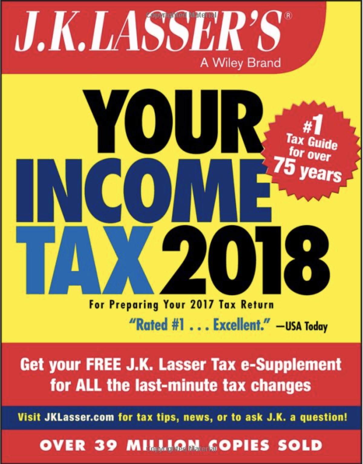 J.K.Lassers approved Income Tax Planning