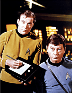 Captain Kirk using iPad and Apple Pencil?