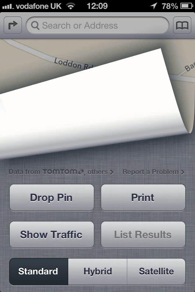 How to add your business to Apples ios6/iPhone maps.