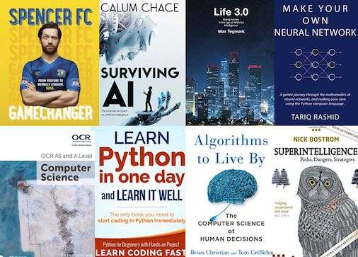 Trending Tech books in the UK for weekending Saturday 16th September 2017